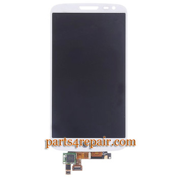 Complete Screen Assembly for LG G2 mni D620 -White