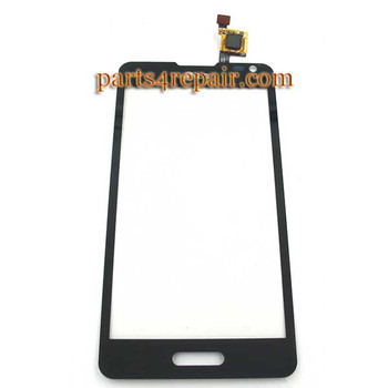 Touch Screen Digitizer for LG Optimus F6 D500 -Black from www.parts4repair.com