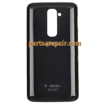 Back Cover with NFC for LG G2 D801 -Black (for T-Mobile)