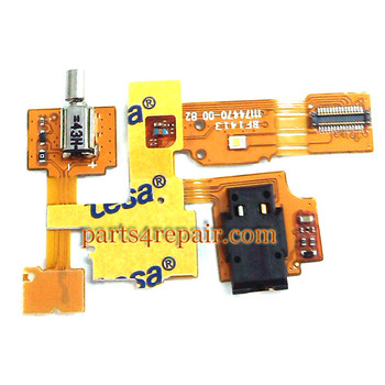 Earphone Jack Flex Cable for Nokia XL