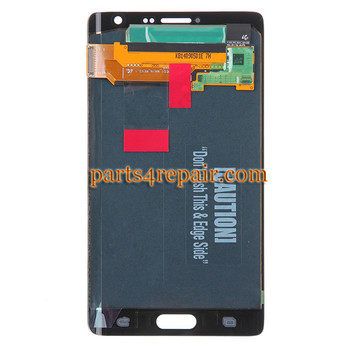 Complete Screen Assembly for Samsung Galaxy Note Edge SM-N915 -Black