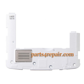 Loud Speaker Module for LG G3 D855 (for Europe) -White from www.parts4repair.com