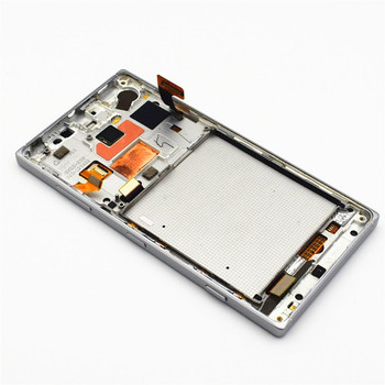 Complete Screen Assembly with Bezel & Side keys for Nokia Lumia 830 -White