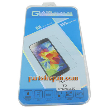 Premium Tempered Glass Screen Protector for Sony Xperia T3