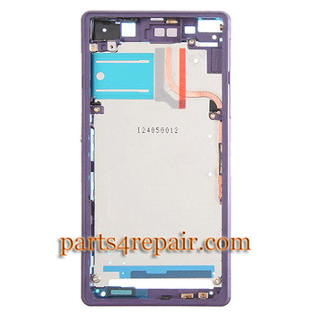 We can offer LCD Plate for Sony Xperia Z2 -Purple