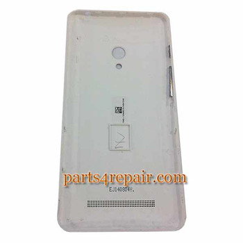 Back Cover  for Asus Zenfone 5 A500KL -White
