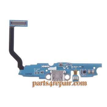 Dock Charging Flex Cable for Samsung Galaxy S5 Active G870A from www.parts4repair.com