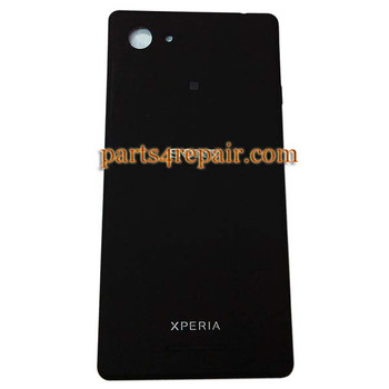 Back Cover for Sony Xperia E3 -Black from www.parts4repair.com