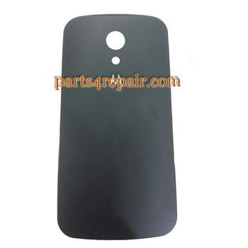 Back Cover for Motorola Moto G2 -Black from www.parts4repair.com
