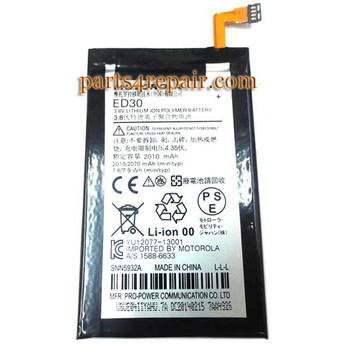 We can offer Built-in Battery ED30 for Motorola Moto G XT1032
