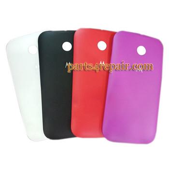 Back Cover for Motorola Moto E XT1021 -White