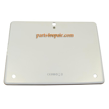 Back Cover with Bezel for Samsung Galaxy Tab S 10.5 T800 WIFI -White