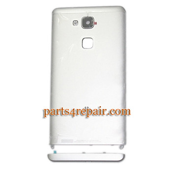 Back Housing Cover for Huawei Ascend Mate 7 -Silver from www.parts4repair.com