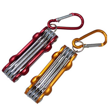 Portable Screwdriver Kit with Keychain