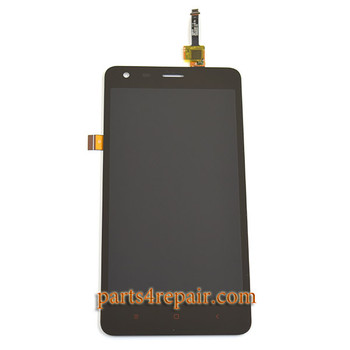Complete Screen Assembly for Xiaomi Redmi 2 from www.parts4repair.com
