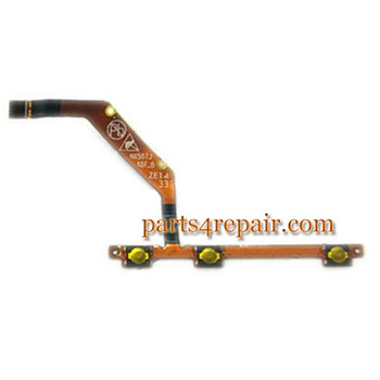 side key flex cable for ZTE Z7 mini NX507J from www.parts4repair.com
