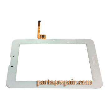 Touch Screen Digitizer for Huawei MediaPad 7 Vogue -White