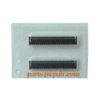 45pin Touch Screen FPC Connector for HTC One M8 -5pcs