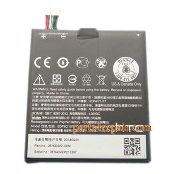 Buil-in Battery for HTC Desire 610