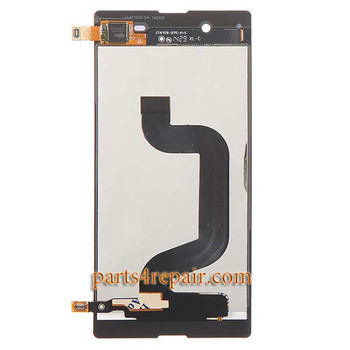 Complete Screen Assembly for Sony Xperia E3 -Black