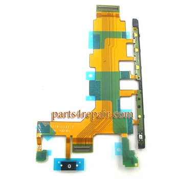 Side Key Flex Cable for Sony Xperia Z2 L50T (for 4G Version)