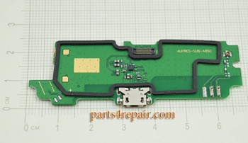Dock Charging PCB Board for Lenovo A850 from www.parts4repair.com