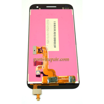 Complete Screen Assembly for Huawei Ascend G7 -Black