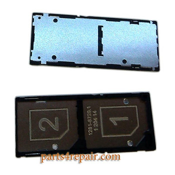 Double SIM Tray for Sony Xperia C3