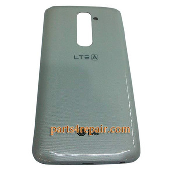 Back Cover with NFC OEM for LG G2 F320S -White