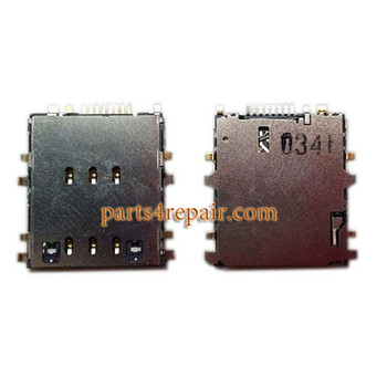 SIM Contact Connector for Samsung Galaxy Tab 4 8.0 T335