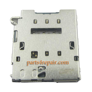 SIM Card Reader for Samsung Galaxy S6 from www.parts4repair.com