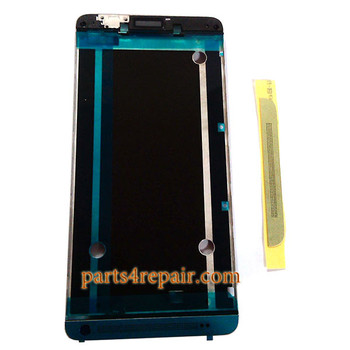 Front Housing Cover with Top Bottom Cover for HTC One Max -Gold