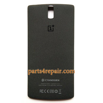Back Cover for OnePlus One -Black