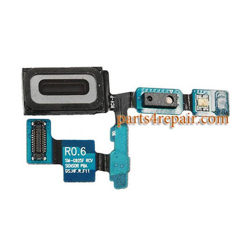 Earpiece Speaker Flex Cable for Samsung Galaxy S6 Edge from www.parts4repair.com