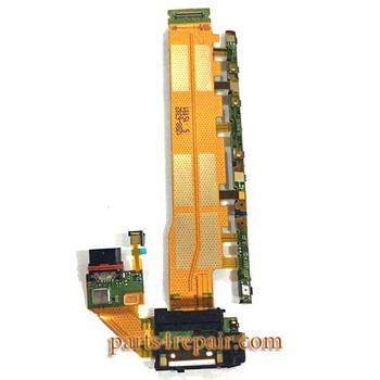 Motherboard Flex Cable for Sony Xperia Z4 from www.parts4repair.com