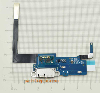 Dock Charging Flex Cable for Samsung Galaxy Note 3 N9005 from www.parts4repair.com