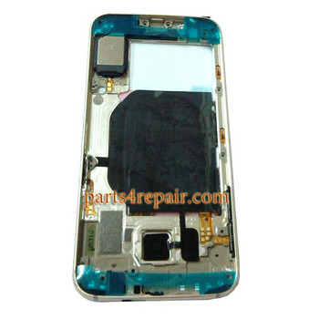 We can offer Middle Housing Cover for Samsung Galaxy S6 G920F -Gold