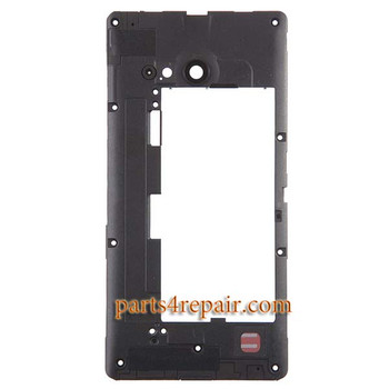 Middle Housing Cover for Nokia Lumia 730 Dual SIM from www.parts4repair.com