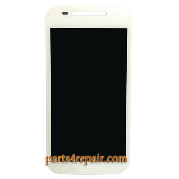 Complete Screen Assembly for Motorola Moto E (2nd Gen) from www.parts4repair.com