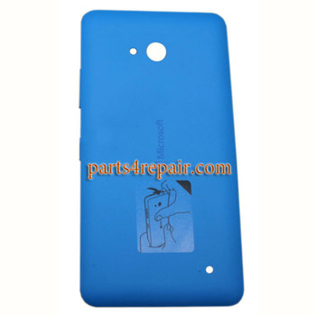 Back Cover with Side Keys for Microsoft Lumia 640 (Matte Surface) -Blue