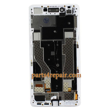 We can offer Complete Screen Assembly with Bezel for Oppo R7