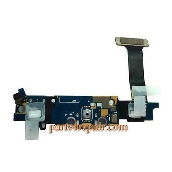 Samsung Galaxy S6 Edge G925T Microphone Flex Cable
