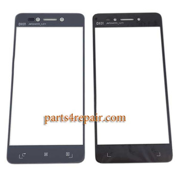 Front Glass for Lenovo S90 Sisley -Black