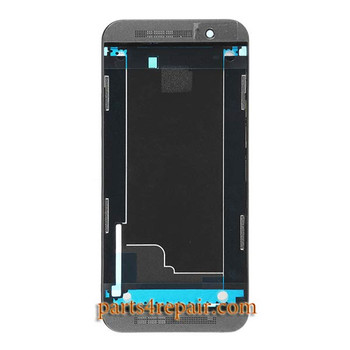 Front Housing Cover for HTC One M9 from www.parts4repair.com