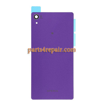Back Cover OEM with NFC for Sony Xperia Z2 -Purple