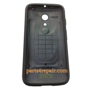Grip Shell Protective Case for Motorola Moto G XT1032 -Black