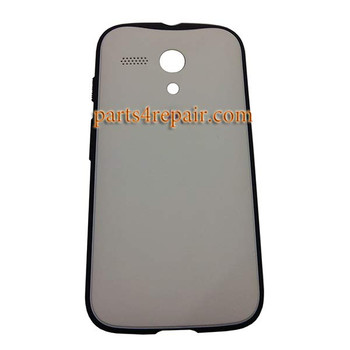 Grip Shell Protective Case for Motorola Moto G XT1032 -White