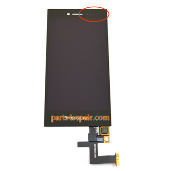 Complete Screen Assembly for BlackBerry Leap Z20 (Version 1)
