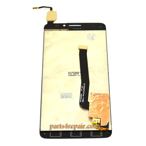 Complete Screen Assembly for Alcatel Idol X+ 6043D -Black