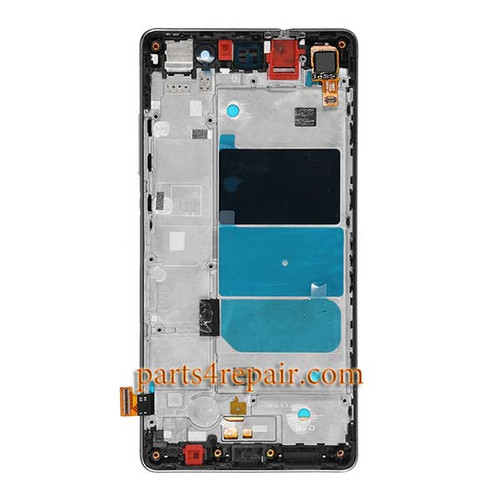 Complete Screen Assembly with Bezel for Huawei P8lite -Black